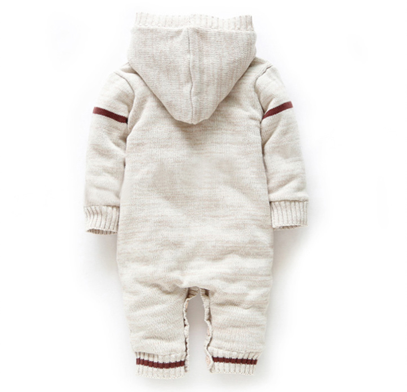 faea6ffda Knitted Baby Rompers Thick woolen for winters - in care of innocence.com